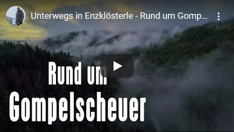 Ferienhaus Enztalblick in Enzklösterle im Nordschwarzwald - Youtube-Video über den Ortsteil Gompelscheuer