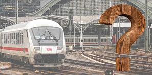Frage: Kann ich mit der Bahn anreisen?